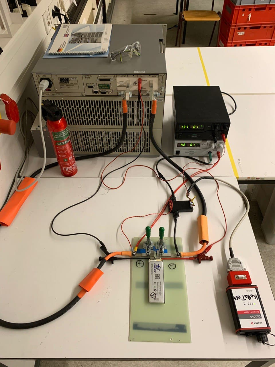 Testbench Battery-Cell